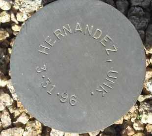 HERNANDEZ, UNK - Maricopa County, Arizona | UNK HERNANDEZ - Arizona Gravestone Photos