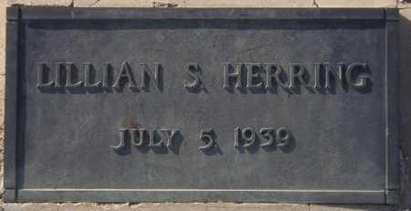HERRING, LILLIAN S. - Maricopa County, Arizona | LILLIAN S. HERRING - Arizona Gravestone Photos
