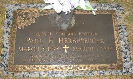 HERSHBERGER, PAUL E. - Maricopa County, Arizona | PAUL E. HERSHBERGER - Arizona Gravestone Photos