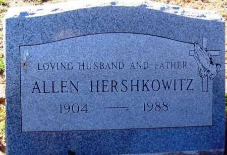 HERSHKOWITZ, ALLEN - Maricopa County, Arizona | ALLEN HERSHKOWITZ - Arizona Gravestone Photos