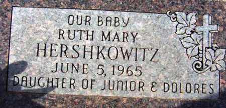 HERSHKOWITZ, RUTH MARY - Maricopa County, Arizona | RUTH MARY HERSHKOWITZ - Arizona Gravestone Photos