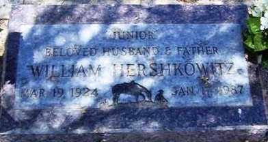 HERSHKOWITZ, WILLIAM (JUNIOR) - Maricopa County, Arizona | WILLIAM (JUNIOR) HERSHKOWITZ - Arizona Gravestone Photos