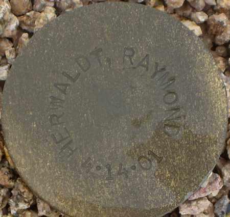 HERWALDT, RAYMOND - Maricopa County, Arizona   RAYMOND HERWALDT - Arizona Gravestone Photos