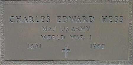 HESS, CHARLES EDWARD - Maricopa County, Arizona | CHARLES EDWARD HESS - Arizona Gravestone Photos