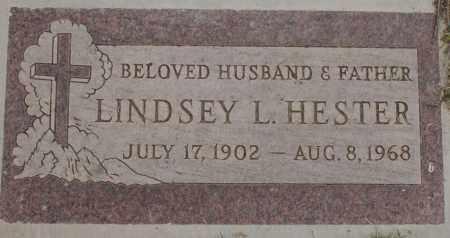 HESTER, LINDSEY L. - Maricopa County, Arizona | LINDSEY L. HESTER - Arizona Gravestone Photos