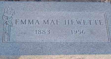 BROWN HEWETTE, EMMA MAE - Maricopa County, Arizona | EMMA MAE BROWN HEWETTE - Arizona Gravestone Photos