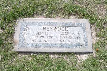 HEYWOOD, LUCILLE - Maricopa County, Arizona | LUCILLE HEYWOOD - Arizona Gravestone Photos