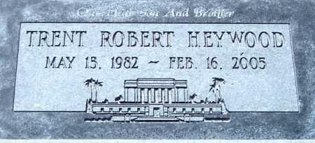 HEYWOOD, TRENT ROBERT - Maricopa County, Arizona | TRENT ROBERT HEYWOOD - Arizona Gravestone Photos