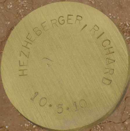 HEZHEBERGER, RICHARD - Maricopa County, Arizona | RICHARD HEZHEBERGER - Arizona Gravestone Photos