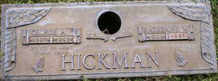 HICKMAN, GEORGE A - Maricopa County, Arizona | GEORGE A HICKMAN - Arizona Gravestone Photos
