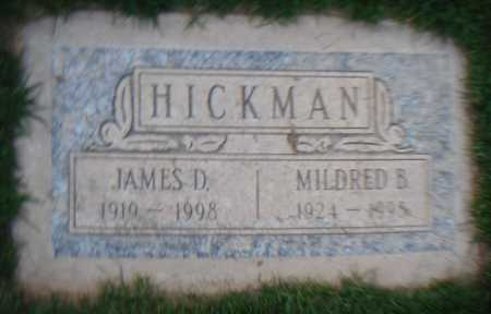 HICKMAN, JAMES D. - Maricopa County, Arizona | JAMES D. HICKMAN - Arizona Gravestone Photos