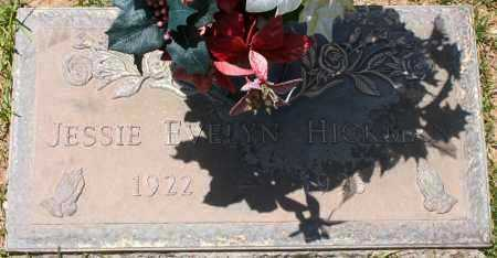 HICKMAN, JESSIE EVELYN - Maricopa County, Arizona | JESSIE EVELYN HICKMAN - Arizona Gravestone Photos
