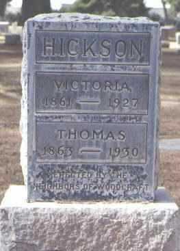 HICKSON, THOMAS - Maricopa County, Arizona   THOMAS HICKSON - Arizona Gravestone Photos
