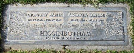 HIGGINBOTHAM, GREGORY JAMES - Maricopa County, Arizona   GREGORY JAMES HIGGINBOTHAM - Arizona Gravestone Photos