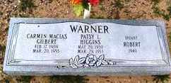 WARNER HIGGINS, PASTY L. - Maricopa County, Arizona | PASTY L. WARNER HIGGINS - Arizona Gravestone Photos