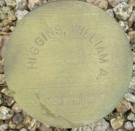 HIGGINS, WILLIAM A. - Maricopa County, Arizona   WILLIAM A. HIGGINS - Arizona Gravestone Photos