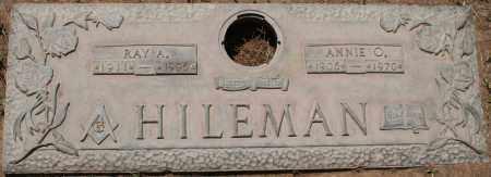 HILEMAN, ANNIE O. - Maricopa County, Arizona | ANNIE O. HILEMAN - Arizona Gravestone Photos