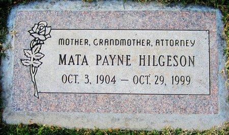 HILGESON, MATA - Maricopa County, Arizona | MATA HILGESON - Arizona Gravestone Photos