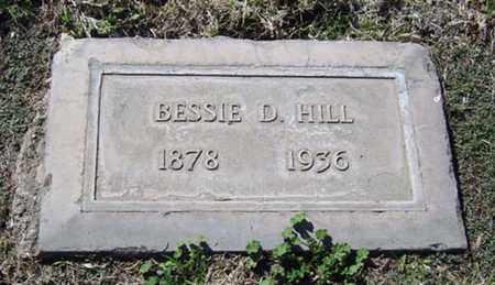 HILL, BESSIE - Maricopa County, Arizona   BESSIE HILL - Arizona Gravestone Photos