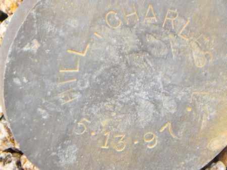 HILL, CHARLES E. - Maricopa County, Arizona | CHARLES E. HILL - Arizona Gravestone Photos