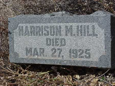 HILL, HARRISON M - Maricopa County, Arizona | HARRISON M HILL - Arizona Gravestone Photos
