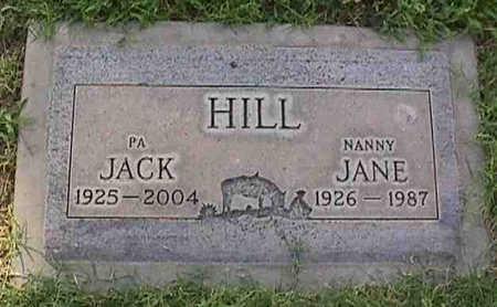 HILL, JANE - Maricopa County, Arizona | JANE HILL - Arizona Gravestone Photos