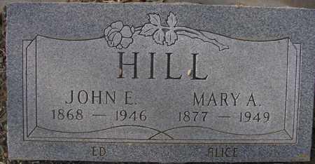 HILL, JOHN E. - Maricopa County, Arizona | JOHN E. HILL - Arizona Gravestone Photos