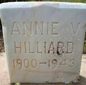 HILLIARD, ANNA VERDE (ANNIE) - Maricopa County, Arizona | ANNA VERDE (ANNIE) HILLIARD - Arizona Gravestone Photos