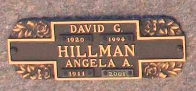 HILLMAN, DAVID G - Maricopa County, Arizona | DAVID G HILLMAN - Arizona Gravestone Photos