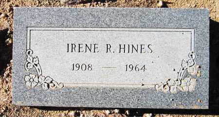 HINES, IRENE R. - Maricopa County, Arizona | IRENE R. HINES - Arizona Gravestone Photos