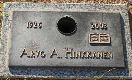 HINKKANEN, ARVO A - Maricopa County, Arizona | ARVO A HINKKANEN - Arizona Gravestone Photos