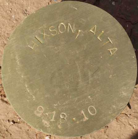 HIXSON, ALTA - Maricopa County, Arizona | ALTA HIXSON - Arizona Gravestone Photos