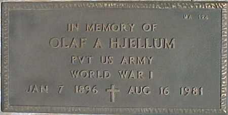 HJELLUM, OLAF A. - Maricopa County, Arizona | OLAF A. HJELLUM - Arizona Gravestone Photos