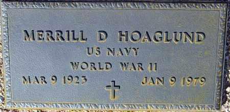 HOAGLUND, MERRILL D. - Maricopa County, Arizona | MERRILL D. HOAGLUND - Arizona Gravestone Photos