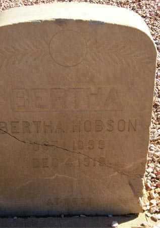 HOBSON, BERTHA - Maricopa County, Arizona | BERTHA HOBSON - Arizona Gravestone Photos