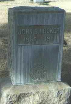 HOCKER, JOHN B. - Maricopa County, Arizona | JOHN B. HOCKER - Arizona Gravestone Photos