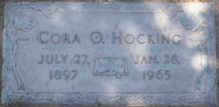 HOCKING, CORA O - Maricopa County, Arizona | CORA O HOCKING - Arizona Gravestone Photos