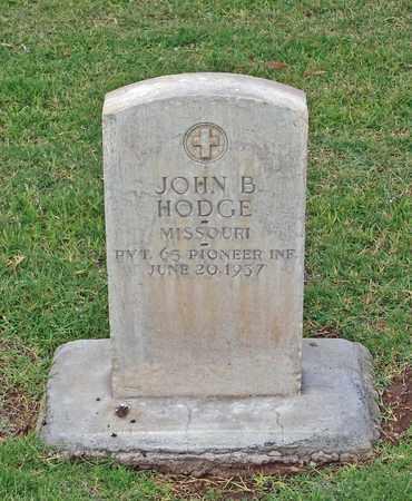 HODGE, JOHN B. - Maricopa County, Arizona | JOHN B. HODGE - Arizona Gravestone Photos