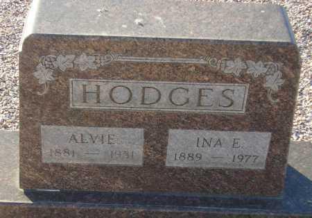 HODGES, INA E. - Maricopa County, Arizona | INA E. HODGES - Arizona Gravestone Photos