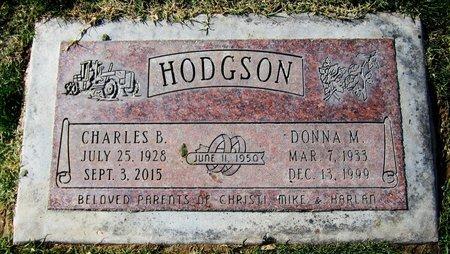 HODGSON, CHARLES B. - Maricopa County, Arizona | CHARLES B. HODGSON - Arizona Gravestone Photos