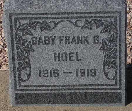 HOEL, FRANK B. - Maricopa County, Arizona   FRANK B. HOEL - Arizona Gravestone Photos