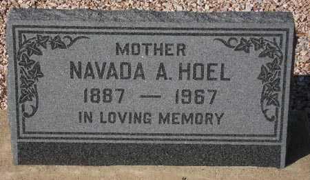HOEL, NAVADA A. - Maricopa County, Arizona | NAVADA A. HOEL - Arizona Gravestone Photos