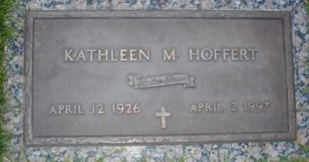 HOFFERT, KATHLEEN M - Maricopa County, Arizona | KATHLEEN M HOFFERT - Arizona Gravestone Photos