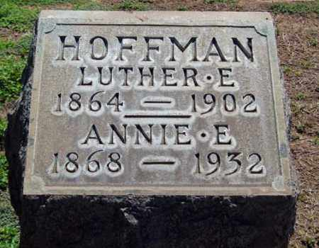 HEWES HOFFMAN, ANNIE E. - Maricopa County, Arizona | ANNIE E. HEWES HOFFMAN - Arizona Gravestone Photos