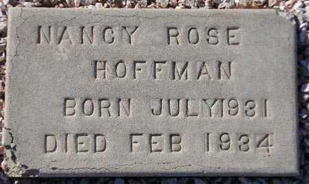 HOFFMAN, NANCY ROSE - Maricopa County, Arizona | NANCY ROSE HOFFMAN - Arizona Gravestone Photos