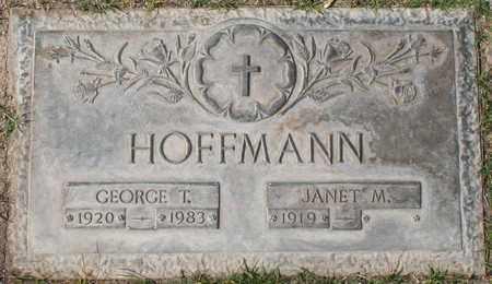 HOFFMANN, JANET M - Maricopa County, Arizona | JANET M HOFFMANN - Arizona Gravestone Photos