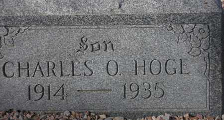 HOGE, CHARLES O. - Maricopa County, Arizona | CHARLES O. HOGE - Arizona Gravestone Photos