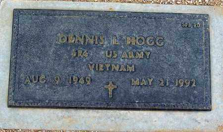 HOGG, DENNIS L. - Maricopa County, Arizona | DENNIS L. HOGG - Arizona Gravestone Photos