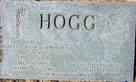 GODBEHERE HOGG, SHIRLEY JEAN - Maricopa County, Arizona | SHIRLEY JEAN GODBEHERE HOGG - Arizona Gravestone Photos