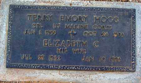 HOGG, TERRY EMORY - Maricopa County, Arizona | TERRY EMORY HOGG - Arizona Gravestone Photos